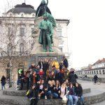 Ljubljana Innenstadt